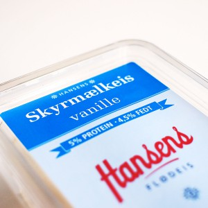 hansens skyr vanille is